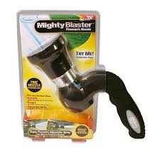 com mighty blaster hose nozzle garden sprayer by bulbhead power wash and water your lawn like a pro garden outdoor