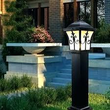lamp post columns outdoor lighting inspiring column lights pier mount waterproof garden doorway lamps uk