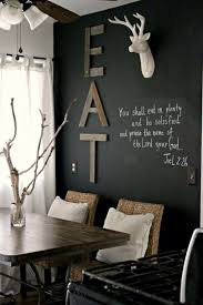 diy of kind of art food panel wall decoration with wooden wall