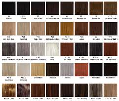 Hair Color Chart Mid K Beauty Supply