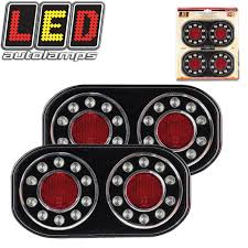 Led Tray Lights Details About 2x Tray Back Ute Trailer Truck Caravan Indicator 12v Led Stop Tail Light Pair