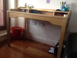ikea gustav desk birch