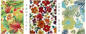 tropical area rugs tropical indoor outdoor area rugs