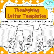 Thanksgiving Letter Templates Super Cute Thanksgiving Letter Templates