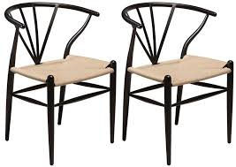 black metal dining chairs. Delighful Metal Delta Black Metal Dining Chair With Natural Seat Pair Inside Chairs