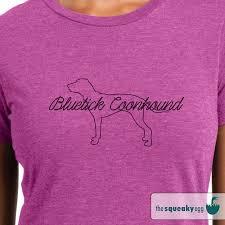 Bluetick Coonhound Size Chart Bluetick Coonhound Outline