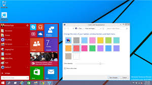 Windows 10 Color Scheme Windows 7 And 8 Collide To Make The Windows 10 Start Menu