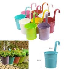 new removable hanging flower pot hooks