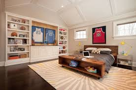 Basketball Themed Kids Room
