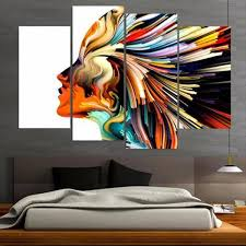 profile colors multi panel canvas wall art elephantstock intended for colorful design 0 on colorful wall art canvas with bird canvas wall art boyintransit com with colorful remodel 9