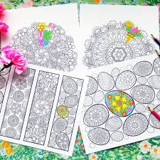 Easter Coloring Bundle Printable Pdf Coloring Book