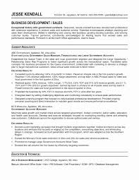 Government Job Resume Format Fresh Resume Objective Examples For