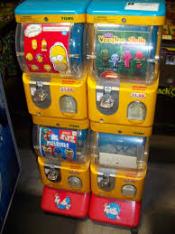 Tomy Vending Machine Delectable Item Is In Used Condition Evidence Of Wear And Commercial Operation