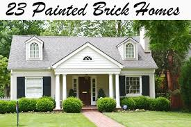 painted brick exterior color schemes. painted brick {a plethora of inspirational pictures!} - beneath my heart exterior color schemes i