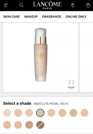 Lancome Absolue Foundation Color Chart Lancome Absolue Bx Makeup Foundation Makeupview Co