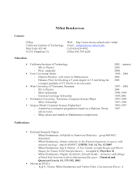 High School Graduate Resume No Experience Template For Students