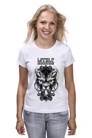 """<b>Футболка классическая</b> """"Lycanthrope"""" #751266 от Legale Prints ..."""