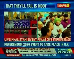 Pro-khalistan event referendum 2020 seeking independence for Punjab will  take place in U.K today