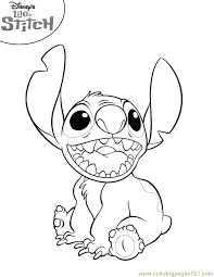 lilo stitch coloring page 13 coloring page
