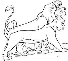Small Picture Lion King Coloring Pages Pdf Periodic Tables