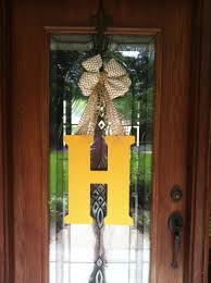 initial door hanger hobby lobby wooden letter acrylic paint and wooden