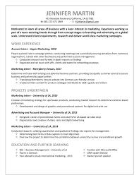 How To Write An Internship Resume Internship Resume Sample To Help Open Doors