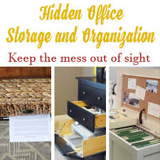 Diy office organization Organization Ideas Have You Been Living With Small Closet Do You Constantly Struggle To Find Room For All Your Shoes And Clothes These Diy Closet Organization Hacks Will Diy Home Sweet Home Hidden Office Storage And Organization Diy Home Sweet Home
