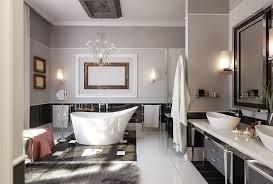 dream bathroom with big tub