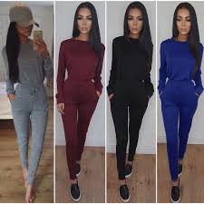 chanel tracksuit. 2pcs women tracksuit hoodies sweatshirt pants sets sport lounge wear casual suit chanel