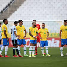 Brazil v. Argentina's suspended match ...