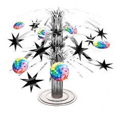 Mini Disco Ball Decorations Disco Ball Cascade Mini Table Centrepiece 100s 100s Party Table 75