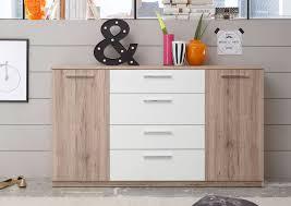 Schlafkontor Manhattan Kommode Eiche Weiß Möbel Letz Ihr