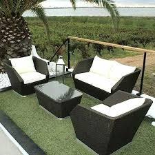 deco garden furniture. Garden Resistant Editions Deco Furniture Birmingham Braided Resin And  Aluminium Structure Luxdeco Outdoor . Art Dining Group Elle
