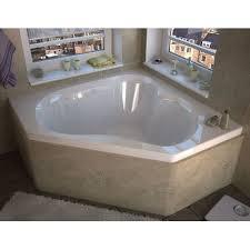 corner bathtub. tobago 59.25\ corner bathtub
