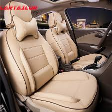 cartailor cover seats for toyota wish car seat cover pu leather seat covers set auto accessories
