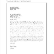 Pdf Cover Letter Teacher Cover Letter Example 9 Free Word Pdf Documents