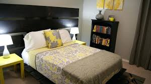 Gray And Yellow Bedroom Ideas 2