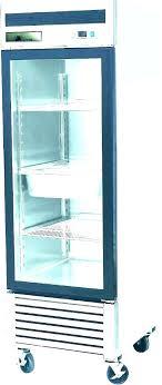 glass door refrigerator for home mini freezer