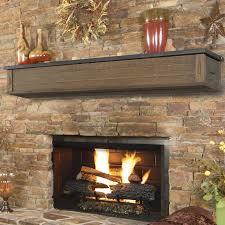fireplace mantels. Fire Place Mantel Pearl Mantels Austin 2 Drawer Storage Fireplace Shelf O