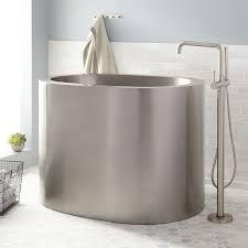 Minimalist Square Bathtub For Modern Bathroom By Colacril  Modern Square Japanese Soaking Tub