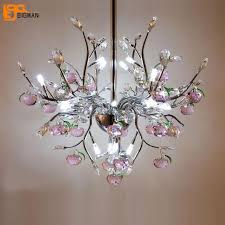 Image Kitchen Island Stove New Beautiful Crystal Pendant Light Modern Flower Hanglampe Lustre House Lighting Fixtures Bar Light Diameter 60cm Aliexpresscom New Beautiful Crystal Pendant Light Modern Flower Hanglampe Lustre