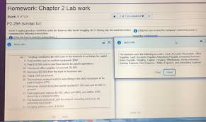 Solved Homework Chapter 2 Lab Work 7 Of 7 5 Complete S