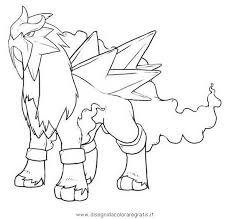 Small Picture Entei Pokemon Coloring Pages Images Pokemon Images In Pokemon