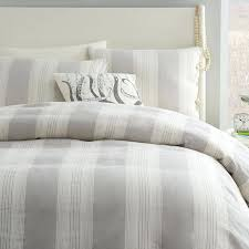 striped duvet cover queen awesome coastal stripe duvet cover frost gray west elm within grey striped striped duvet cover