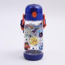 one push direct bottle 480 ml lunch goods character pokemon sun moon water bottle