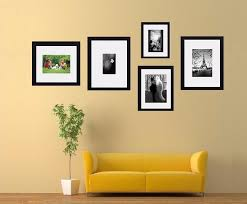 white mount collage wall hanging frame