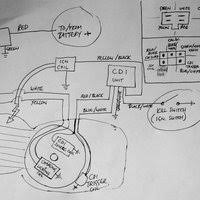 wiring diagrams by boo long photobucket 12v cdi ignition and charging lighting basic wiring honda 50 70 90 110 125 photo