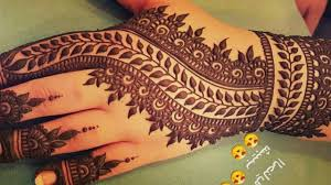 A Beautiful Mehndi Designs Stunning And Beautiful Mehndi Design For Backhand Easy