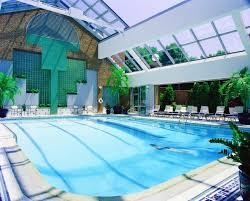 Atrium-style pool at Royal Sonesta Boston in Cambridge, Massachusetts