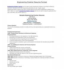 Ideas Collection Ieee Resume Format Pdf Sample For Freshers Template